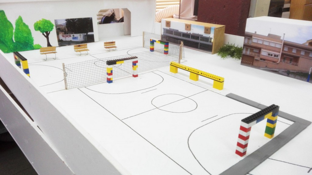 maqueta escola smart city III