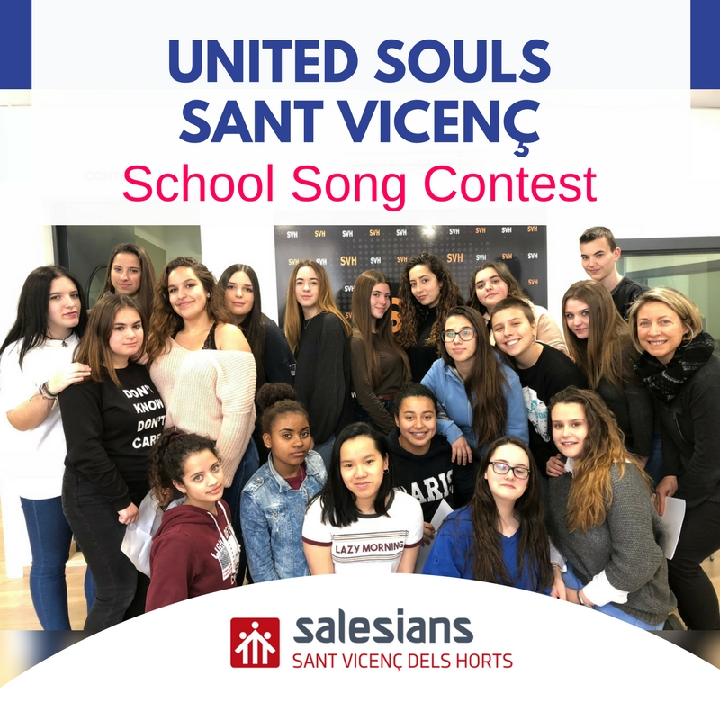 "[VIDEOCLIP] United Souls Sant Vicenç presenta ""When I'm home"" al School Song Contest!"