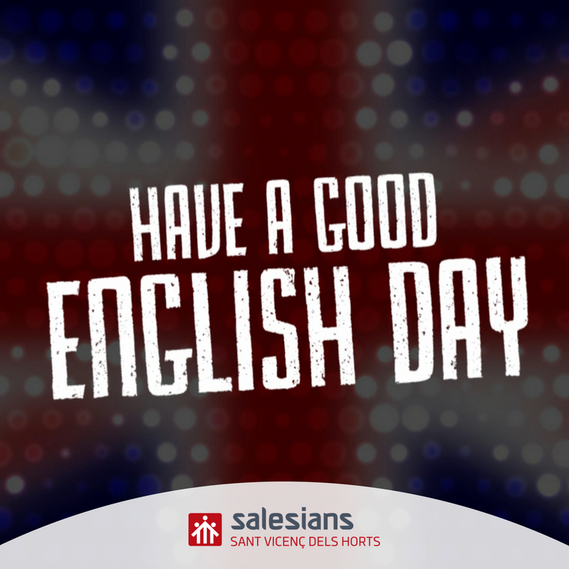 Today is English Day!